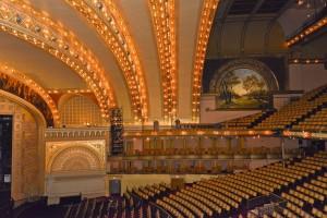 Auditorium Theater, 1889, by Adler Sullivan