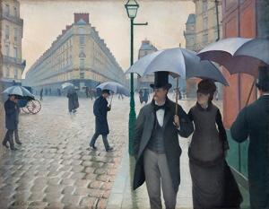 Paris Street; Rainy Day, Gustave Caillebotte (1877)