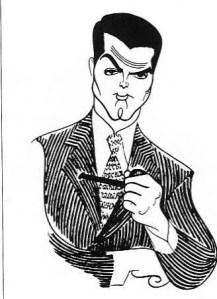 Cary Grant by Al Hirschfeld
