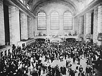 Grand Central Terminal on opening day, 2 February 2013