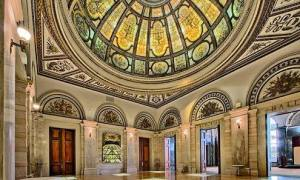 Chicago Cultural Centre, 1897, by Shepley, Rutan & Coolidge - Grand Army of the Republic Memorial Hall