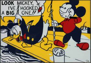 Roy Lichtenstein, Look Mickey, 1961
