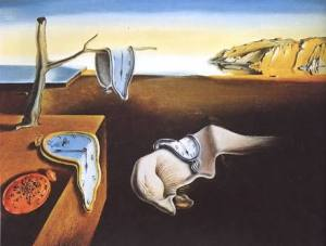 The Persistence of Memory, by Salvador Dalí (1931)