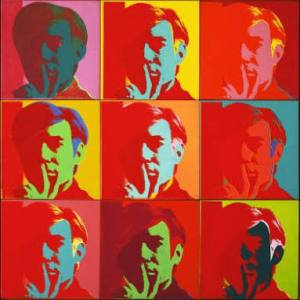 Andy Warhol, Self portrait, 1966