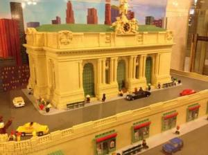 Grand Central Terminal Lego Model
