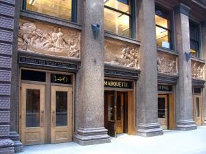 Marquette Building, 1895, Holabird & Roche
