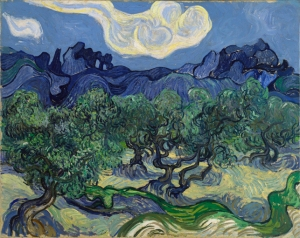 The Olive Trees, by Vincent van Gogh (1889)