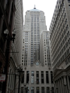 Chicago Board of Trade Building, 1930, by Holabird and Root