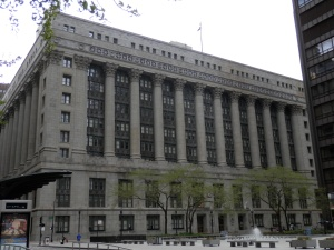 Chicago City Hall, 1911, by Holabird & Roche