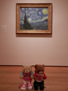 The Starry Night, by Vincent van Gogh (1889) at MoMA