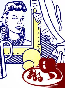Roy Lichtenstein, Still Life with Portrait from 'Six Still Lifes', 1974
