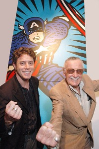 Burton Morris and Stan Lee