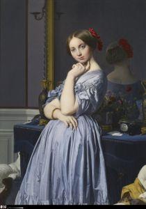 Comtesse d'Haussonville, by Jean-Auguste-Dominique Ingres (1845)