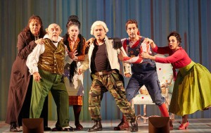 Royal Opera House, Il barbiere di Siviglia Ferruccio Furlanetto as Don Basilio, José Fardilha as Don Bartolo, Madeleine Pierard as Berta, Javier Camarena as Count Almaviva, Vito Priante as Figaro and Daniela Mack as Rosina