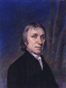 Portrait of Joseph Priestley, by Ellen Sharples