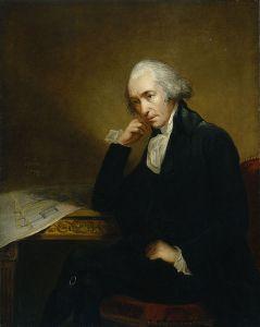 Portrait of James Watt, by Carl Frederik von Breda