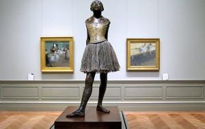 The Little Fourteen-Year-Old Dancer, by Edgar Degas