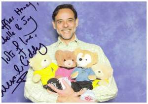 With Alexander Siddig