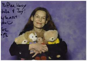 With Alice Krige