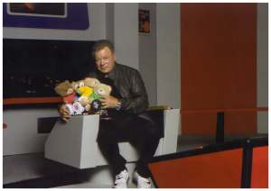 With William Shatner