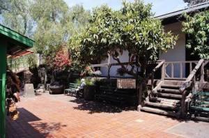 El Pueblo de Los Angeles - The Avila Adobe (built ca 1818, oldest house in LA)
