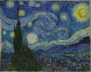 The Starry Night, by Vincent van Gogh (1889)
