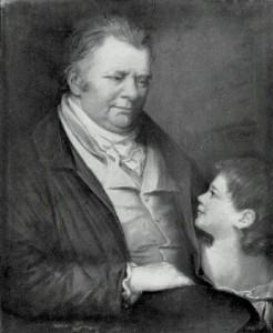 Portrait of James Keir, by L. de Longastre