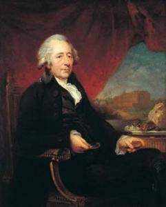 1792 portrait of Matthew Boulton