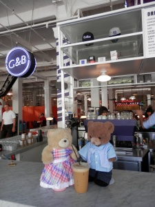 Grand  Central Market - G&B Coffee