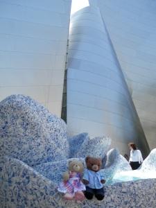 Walt Disney Concert Hall - Blue Ribbon Garden