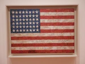 Flag, by Jasper Johns (1954)