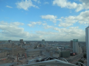 View from L9 of Library of Birmingham