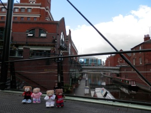 Brindley Place and Birmingham Canal