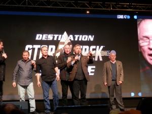 Star Trek Rat Pack, aka Armin Shimerman, Max Grodenchik, Vaughn Armstrong, Jeffrey Combs and Casey Biggs