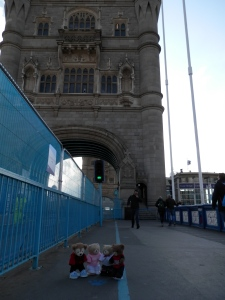 A Stroll on the Tower Bridge