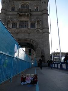 A Stroll on the Tower Bridge
