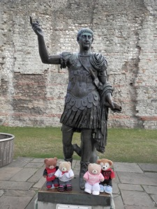 Statue believed to be of the Roman Emperor Trajan