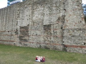 Section of former London City Wall, ca 200CE