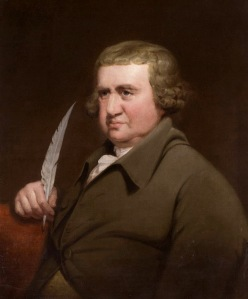 Erasmus Darwin, oil painting by Joseph Wright of Derby, Derby Museum and Art Gallery