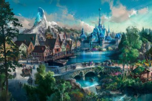 Kingdom of Arendelle, Disney concept art