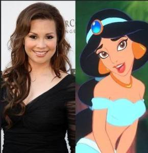 Lea Salonga. the singing voice of Princess Jasmine