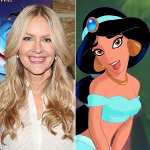 Linda Larkin, the voice of Princess Jasmine