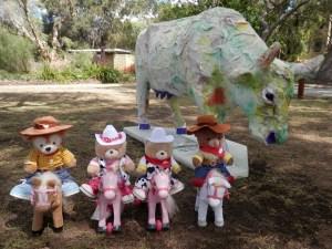 Telethon Kids Carnival Cow Artist: Lexalot Dade Randolph