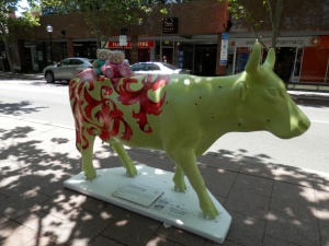 Ornamental Bovine and 42 Dung Beatles Artist: Clare McFarlane