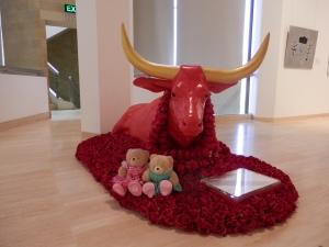 Red Heifer Artist: Abdul-Rahman Abdullah
