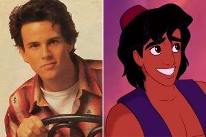 Scott Weinger, the voice of Aladdin