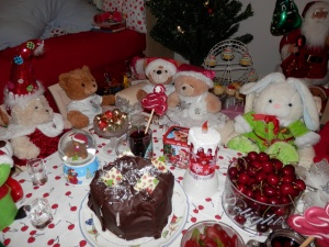 A Cherry Christmas Feast