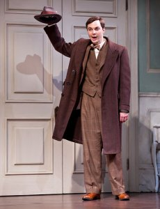 "Jim Parsons in ""Harvey"", NYT"