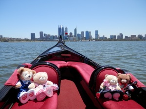 Perth skyline in the background