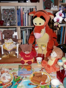 Elevenses with Pooh Bear and Friends
